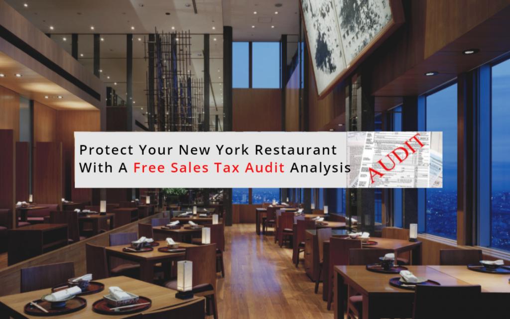 New York Restaurant Sales Tax Audit Analysis