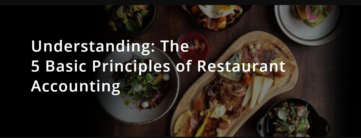 The 5 Basics of Restaurant Accounting