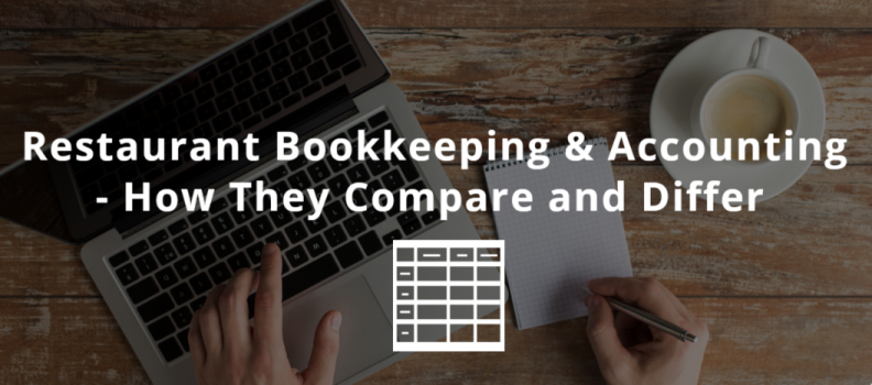 The Difference Between Restaurant Bookkeepers and Accountants