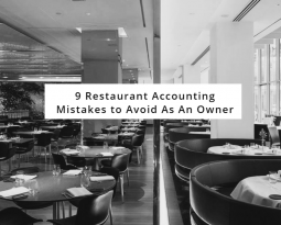 9 RESTAURANT ACCOUNTING MISTAKES YOU COULD BE MAKING