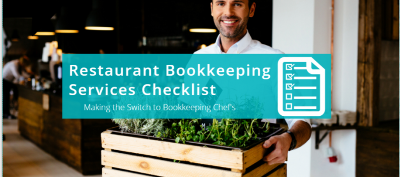 Managed Restaurant Bookkeeping Services Checklist